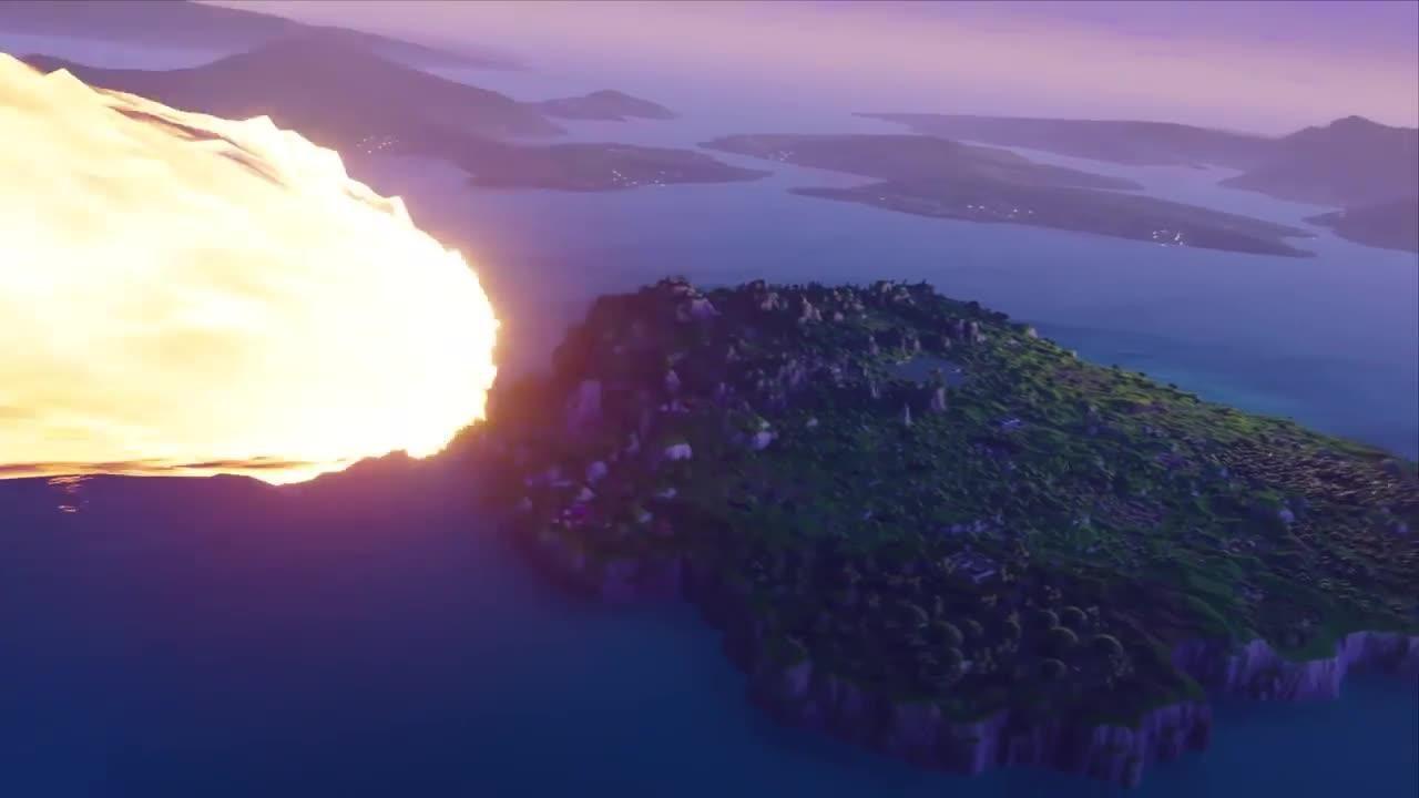Fortnite Season 4 Trailer Announcement screen capture