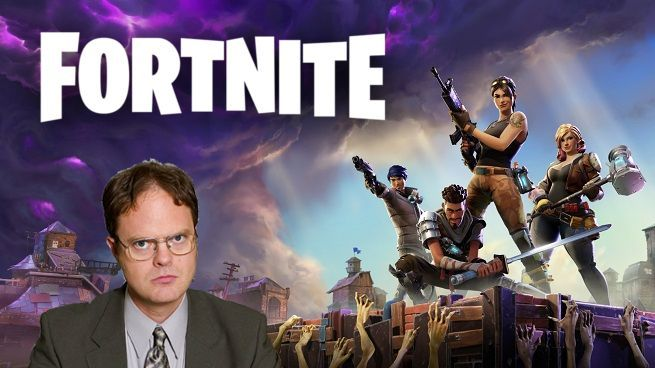 Fortnite The Office