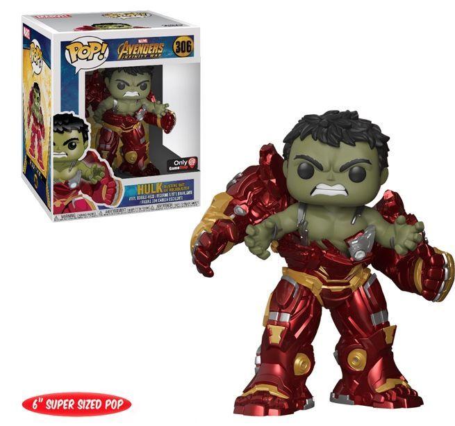 new 'avengers: infinity war' funko figure reveals hulk scene
