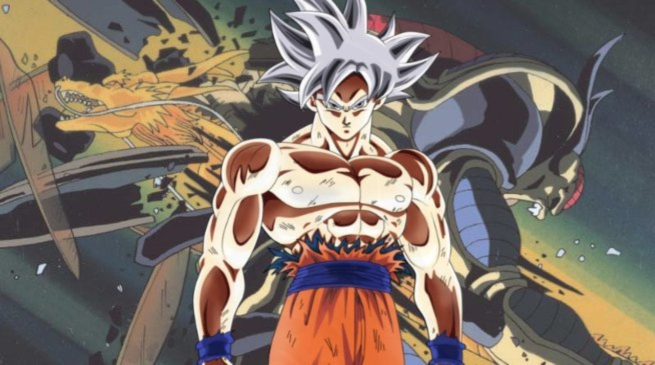 This Dragon Ball Super Artwork Gives Ultra Instinct Goku A Dragon