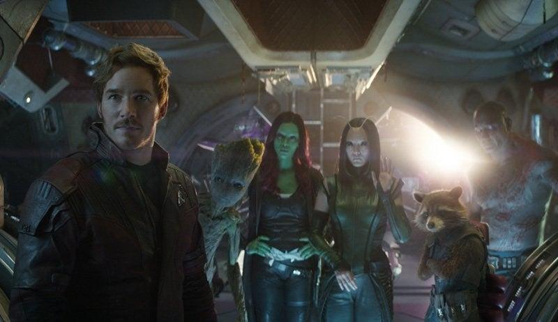 guardians infinity war