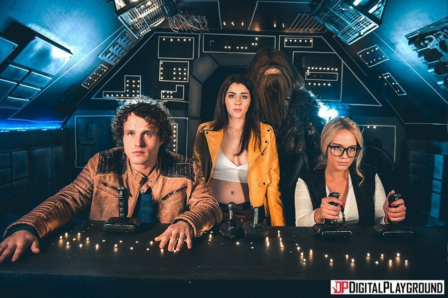 Digital playground star wars parody