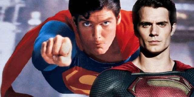 henry cavill christopher reeve superman