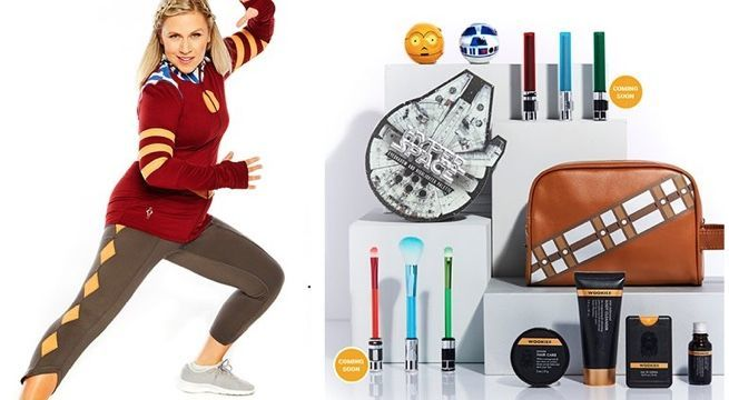 8718d5ddb6 Hot Topic s Star Wars Day Lineup Includes Ahsoka Tano Activewear and Beauty  Products