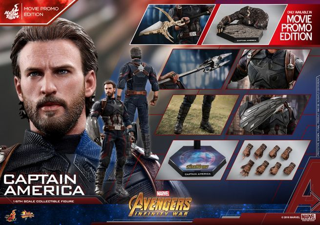 Hot Toys - AIW - Captain America collectible figure (Movie Promo)_Mystery Weapon PR03