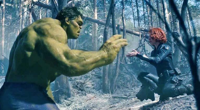 hulk black widow avengers