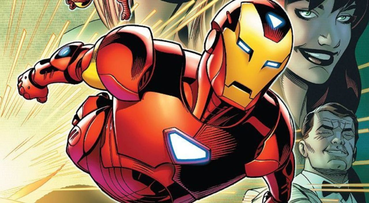 Marvel Reveals Who Iron Man's Real Father Is
