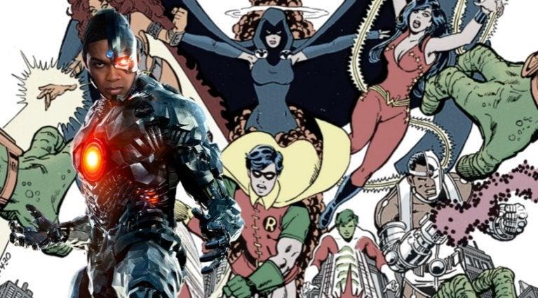 Justice League Cyborg Teen Titans comicbookcom