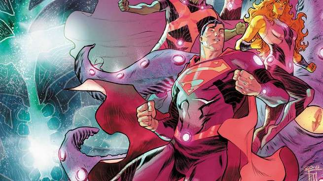 Justice League No Justice #1 Review - Cover