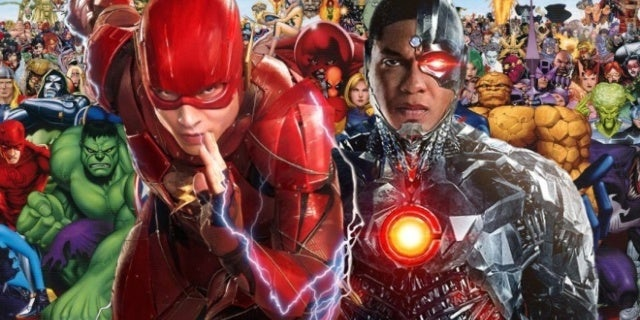 justice league ray fisher ezra miller marvel