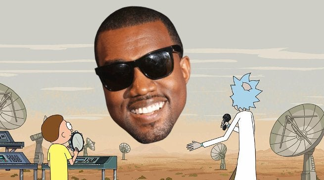 Kanye West Reacts to Rick and Morty Renewal
