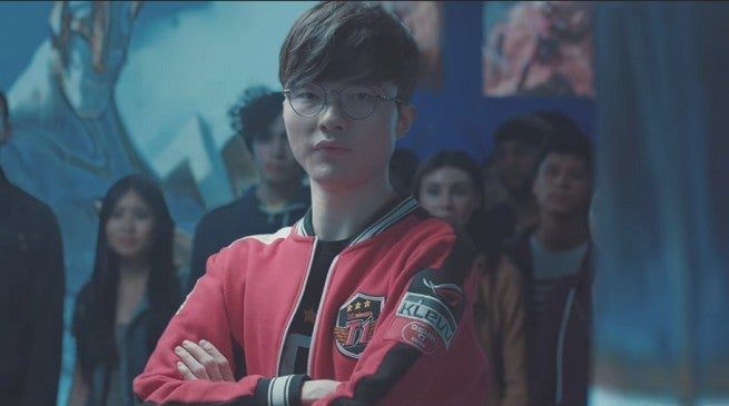 League of Legends Clash Faker