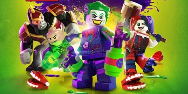Lego DC Super Villains Cover