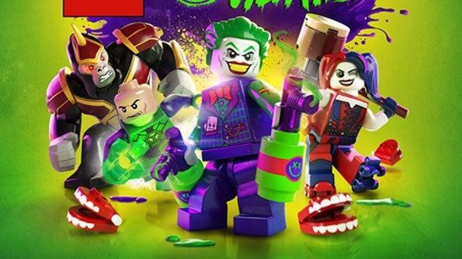 Lego DC Super Villains Cover