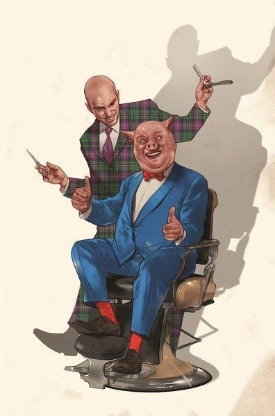 Lex Luthor Porky Pig