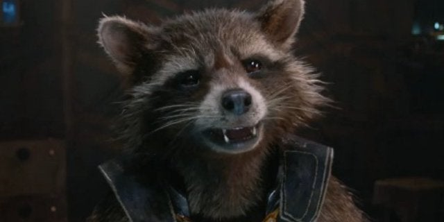 Marvel Baby names Rocket Raccoon