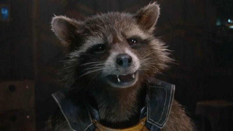 Marvel Baby names Rocket Raccoon