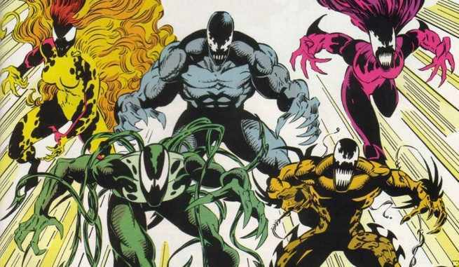 Marvel Comics Symbiote Ranking - Cover