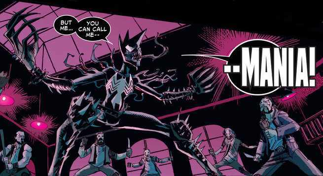Marvel Comics Symbiote Ranking - Mania