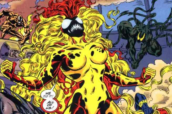Marvel Comics Symbiote Ranking - Scream