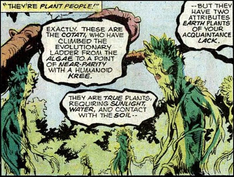 Marvel Comics The Cotati