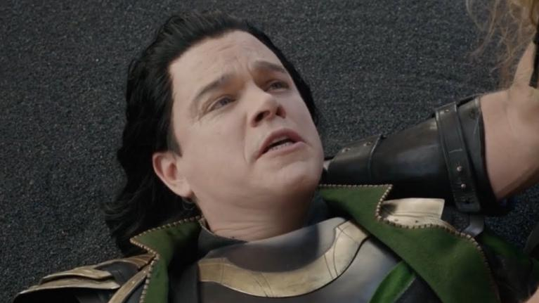 Matt Damon Loki