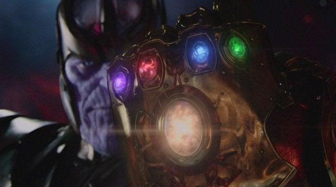 MCU Infinity Stones Spell THANOS