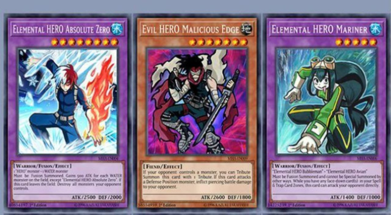 My Hero Academia' Gets A 'Yu-Gi-Oh!' Makeover