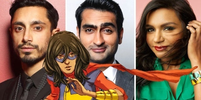 ms marvel riz ahmed kumail nanjiani mindy kaling