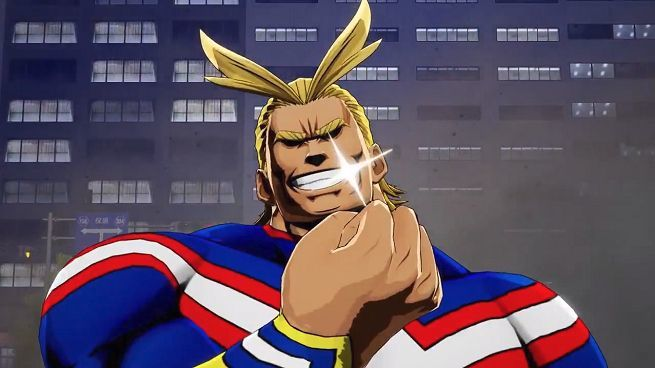 My Hero One's Justice All Might
