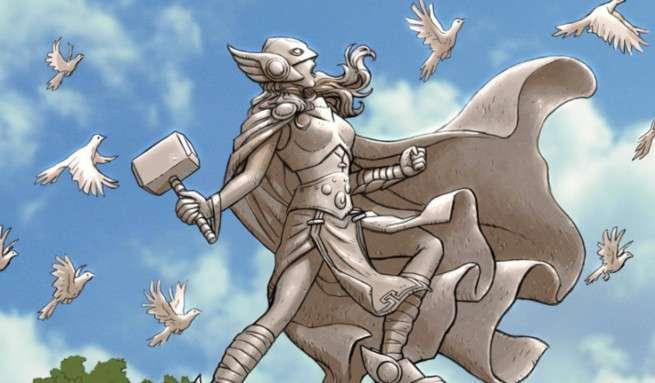 Nick Derington Best Cover Artist - Thor
