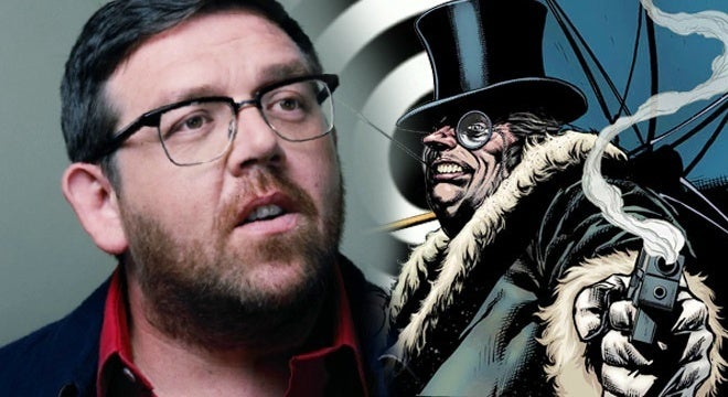nick frost the penguin