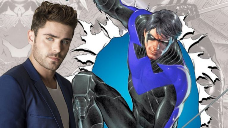 Nightwing Zac Efron ComicBookcom
