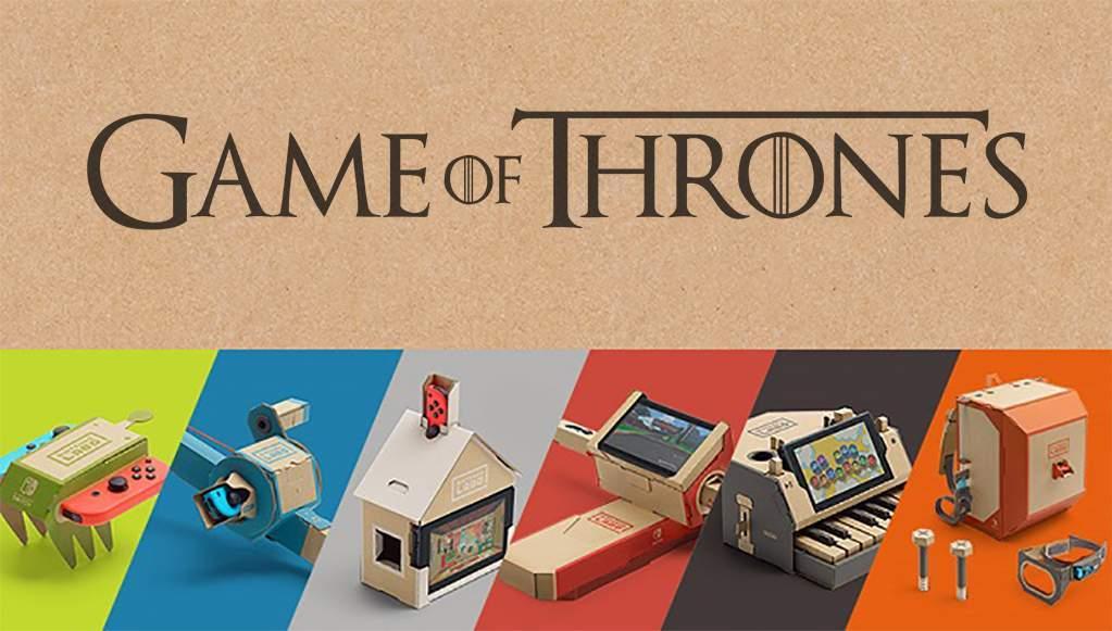 Nintendo Labo Game Of Thrones