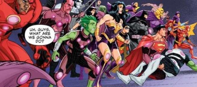 Perfect Superhero Event Comic - Brevity