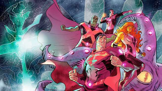 Perfect Superhero Event Comic - Cover