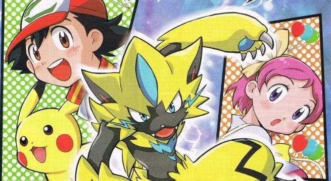 Pokemon-Zeraora-Manga