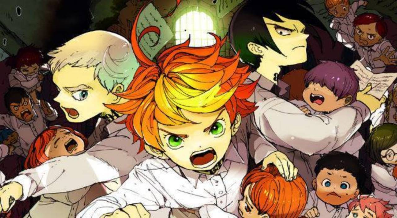 The promised neverland anime reveals release date