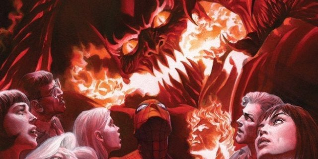 Review Amazing Spider-Man #800 - Cover