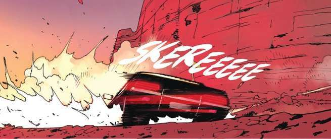 Review Death or Glory #1 - Car Chase