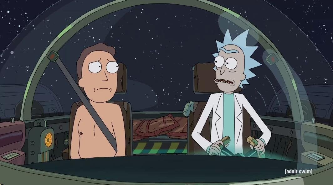 rick and morty behind the scecnes