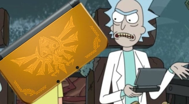 rick morty 3ds