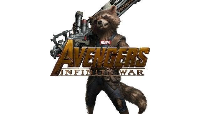 Rocket Raccoon Meets Real Raccoon in Avengers 4