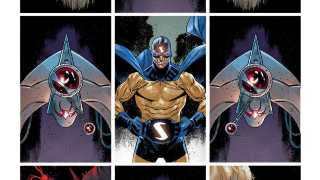 The Sentry #1 - Unlettered Preview Pages
