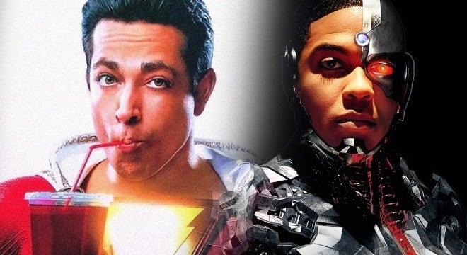 shazam movie cyborg