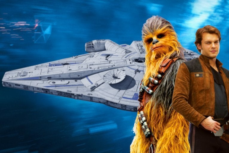Solo A Star Wars Story Millennium Falcon comicbookcom