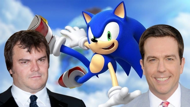 Sonic the Hedgehog Jack Black Ed Helms