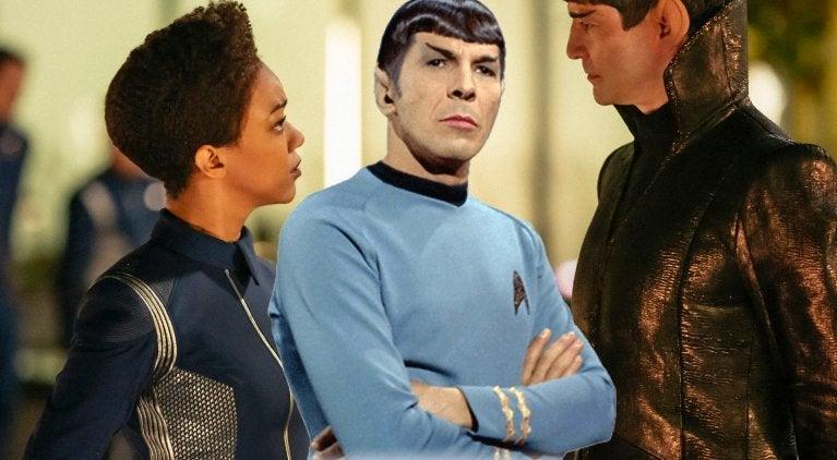 Star Trek Discovery Spock Sister Burnham
