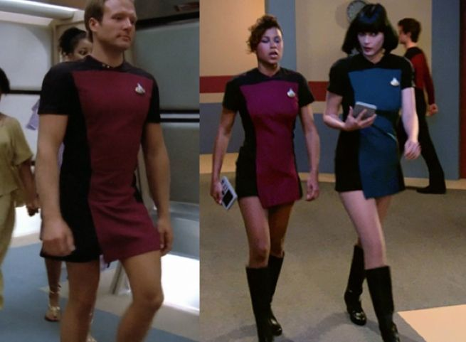 f0fae9c360 Super Accurate  Star Trek  TNG  Skant Uniform Replicas Are for Everyone