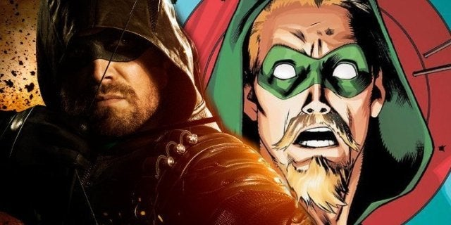 Stephen Amell Goatee Green Arrow